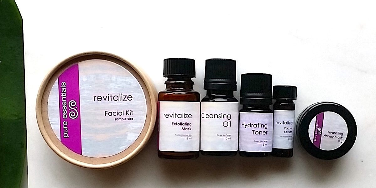 Revitalize facial kit
