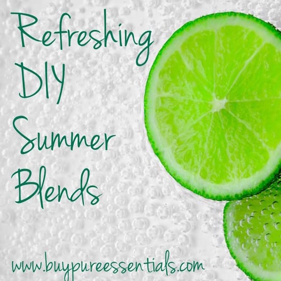 Refreshing DIY oil blends
