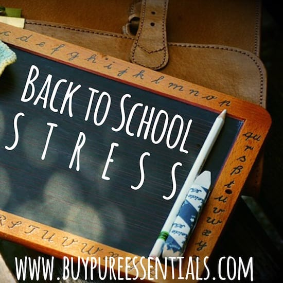 Using essential oils for stress