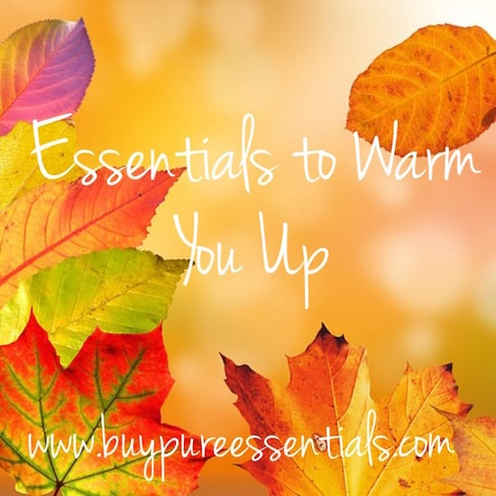 Autumn oils to create warmth