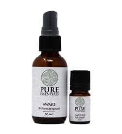 Awake Essential Oil Blend and Botanical Spray
